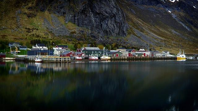 Les Iles Lofoten lieu de pêche du skrei