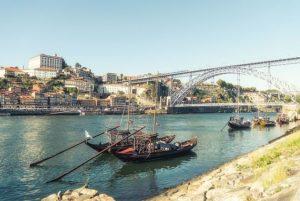 Porto : le pont Dom Luis sur le Douro
